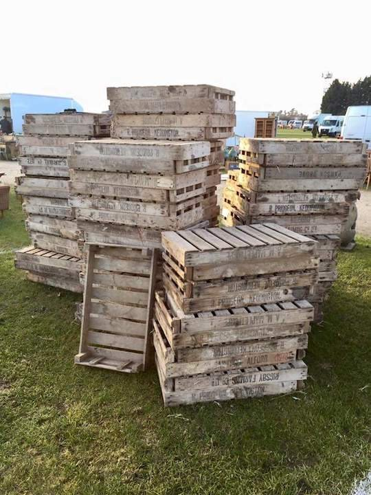 Wooden Farm Crates