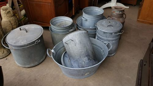 Variety of Galvanised Items